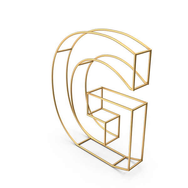 Decorative Wire Letter G PNG & PSD Images