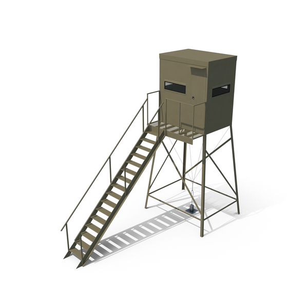 Hunting Stand: Deer Blind PNG & PSD Images