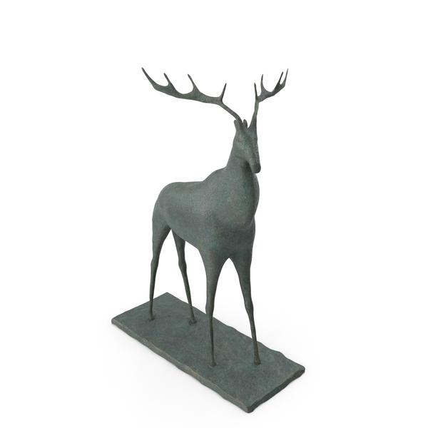 Deer Sculpture PNG & PSD Images