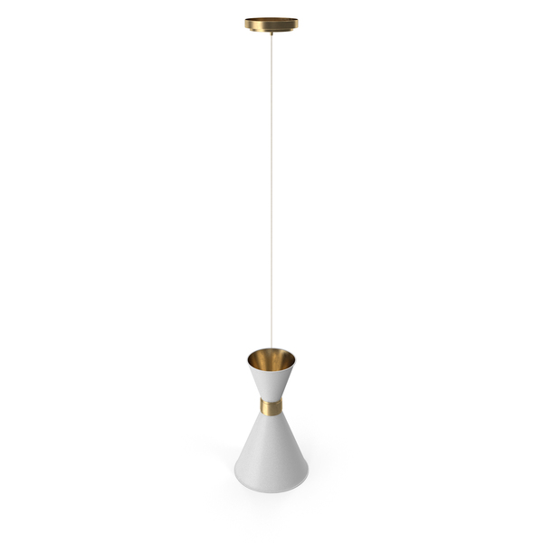 Hanging Lamp: Delightful Black White Cairo Pendant PNG & PSD Images