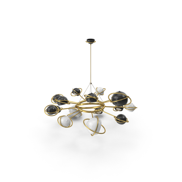 Delightful Cosmo Suspension Chandelier PNG & PSD Images