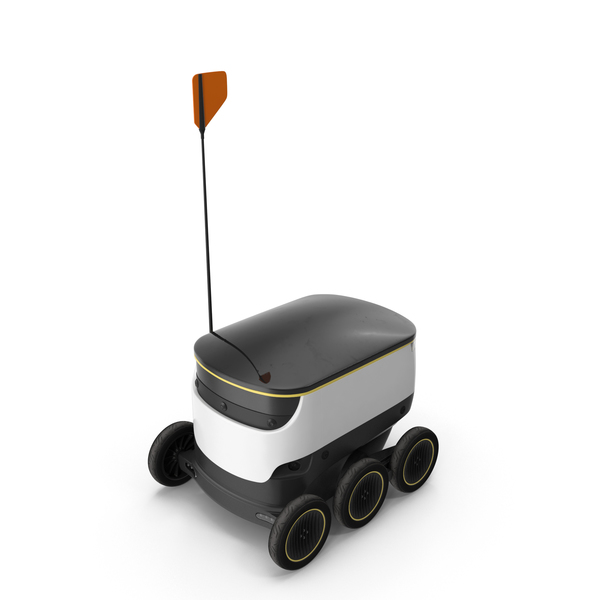 Industrial: Delivery Robot PNG & PSD Images
