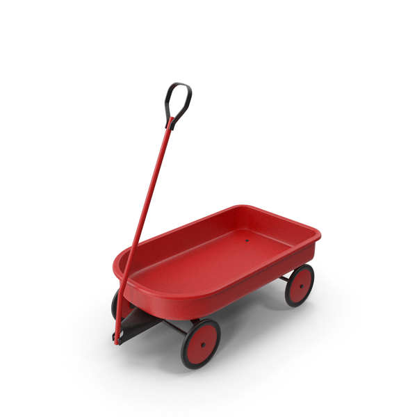 Delivery Toy Wagon Vintage PNG & PSD Images