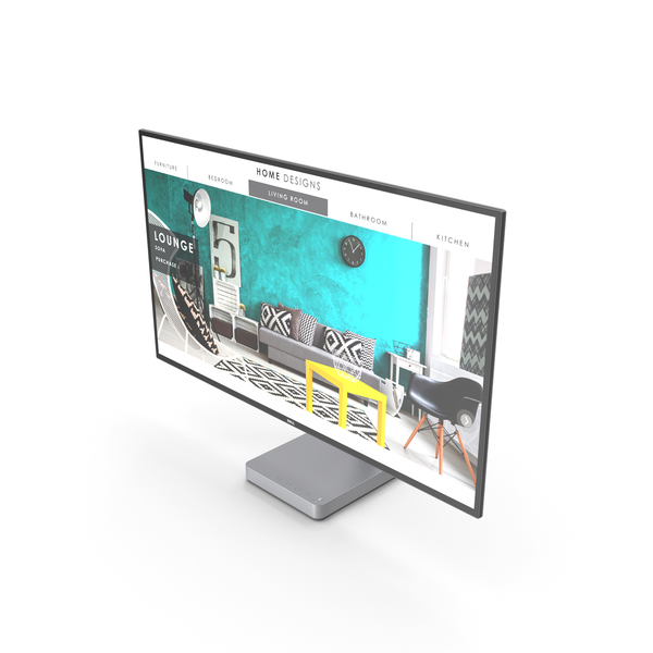 Dell 27 Ultrathin Monitor S2718D PNG & PSD Images