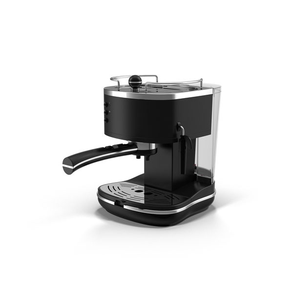 Maker: DeLonghi Espresso Machine PNG & PSD Images
