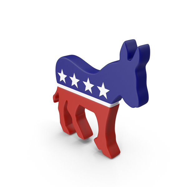 Political: Democratic Party Logo Object