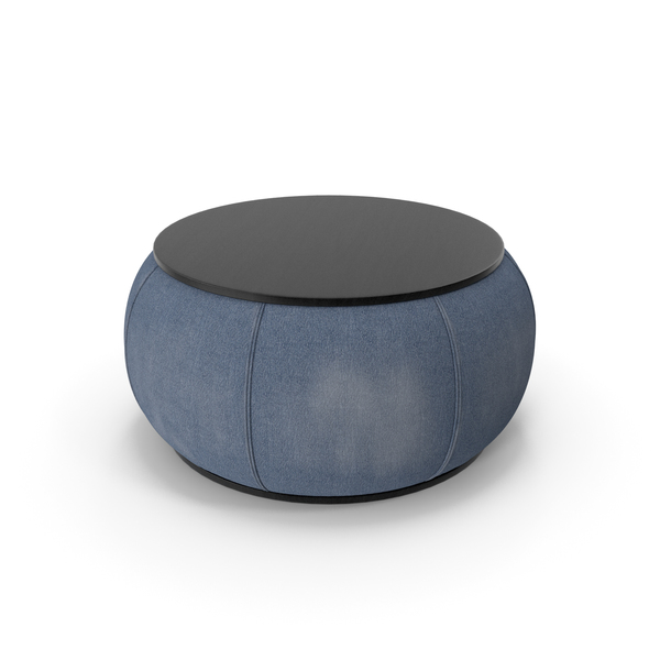 Denim Coffee Table PNG & PSD Images
