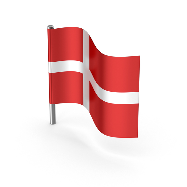 Denmark Cartoon Flag PNG & PSD Images