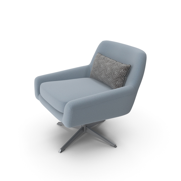 Denmark Swivel Chair by Jamni PNG & PSD Images