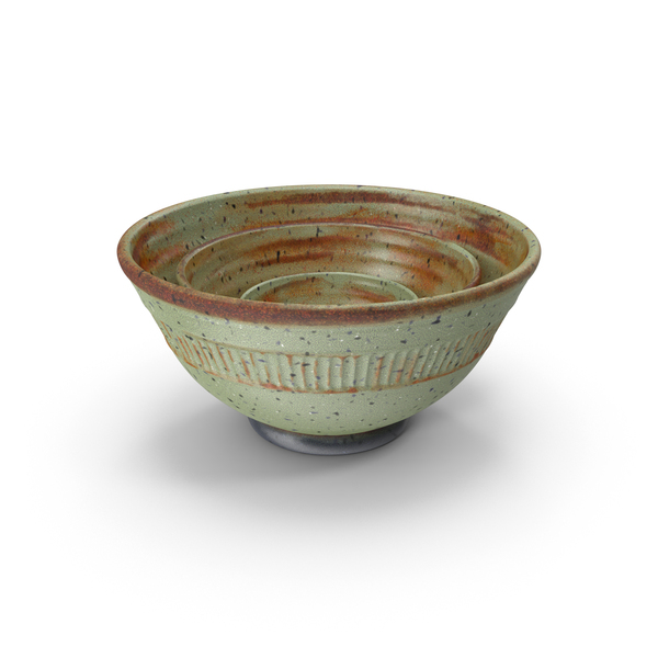 Deocrative Bowl  Set PNG & PSD Images