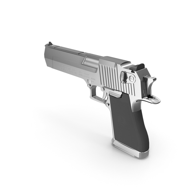 Semi Automatic: Desert Eagle AE50 Pistol PNG & PSD Images