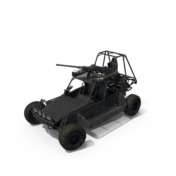 Desert Patrol Vehicle Object