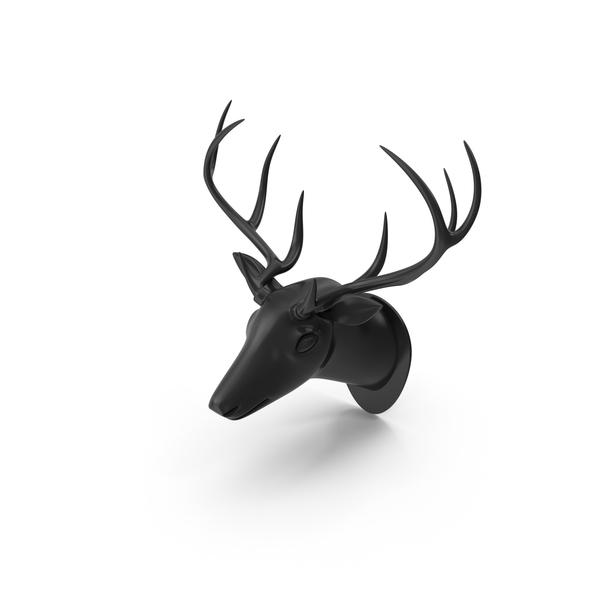 Designer Deer Trophy PNG & PSD Images