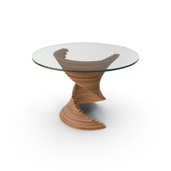 Designer Glass Table PNG & PSD Images