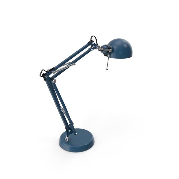 Desk Lamp Blue PNG & PSD Images