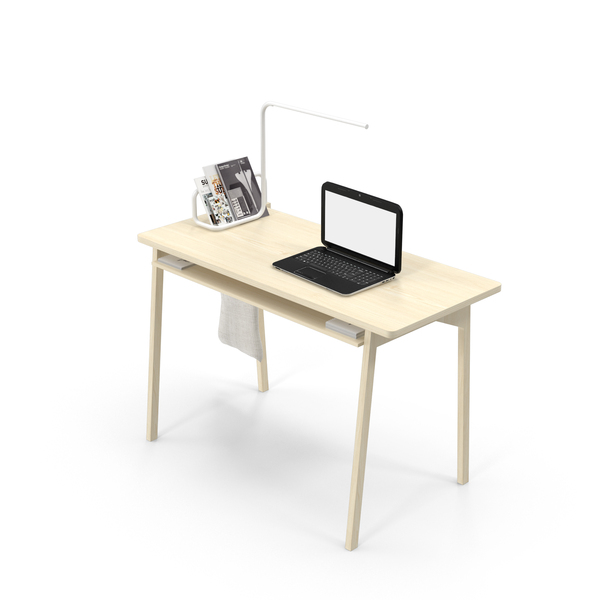 Desk Object Set PNG & PSD Images