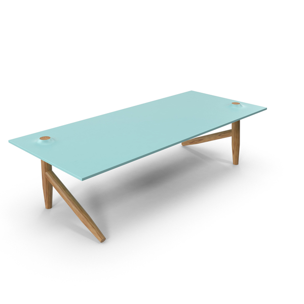 Desk Wood and Glass PNG & PSD Images