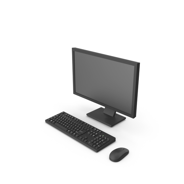 Desktop Computer Object