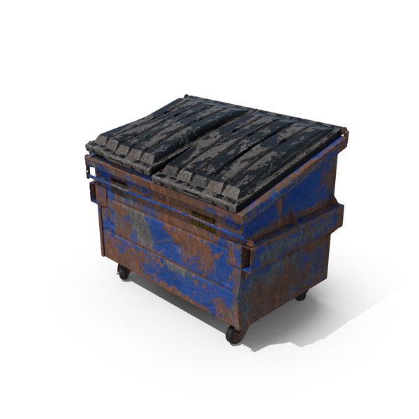 Destroyed Dumpster PNG & PSD Images