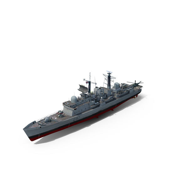 Destroyer HMS Edinburgh (D97) Type 45 PNG & PSD Images
