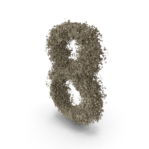 Destruction Stone Number 8 PNG & PSD Images