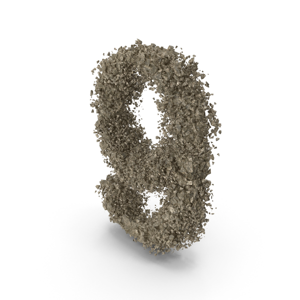 Destruction Stone Number 9 PNG & PSD Images