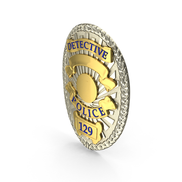 Detective Badge Object