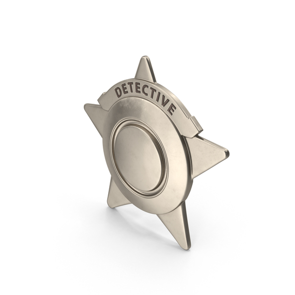 Police: Detective Badge Object