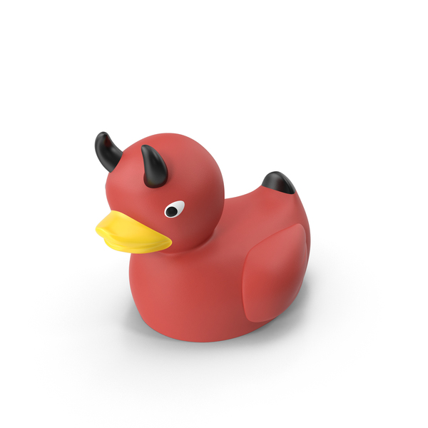 Devil Rubber Duck Object