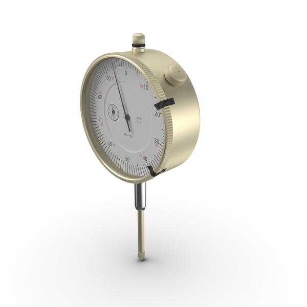 Pressure: Dial Indicator Gauge PNG & PSD Images