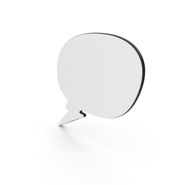 Dialogue Bubble 14 PNG & PSD Images