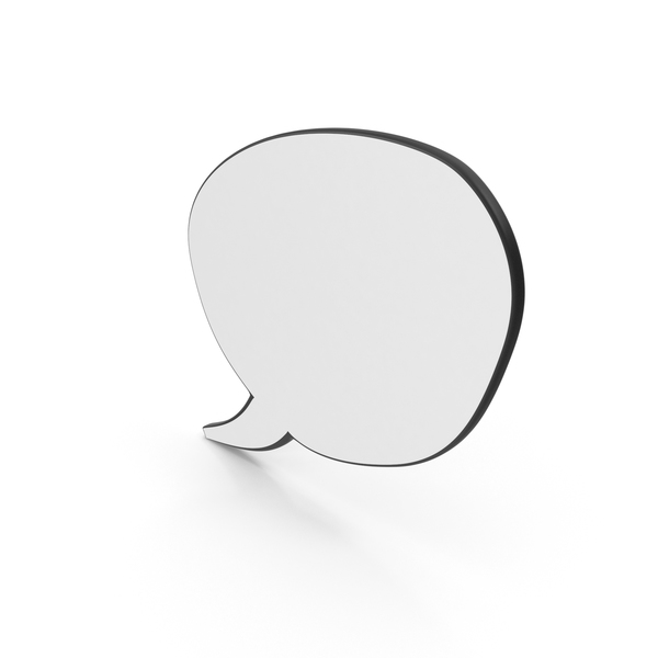 Dialogue Bubble 16 PNG & PSD Images