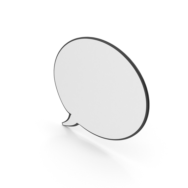 Speech Balloon: Dialogue Bubble 22 PNG & PSD Images