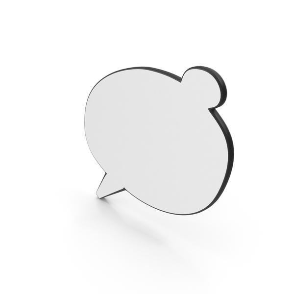 Dialogue Bubble 3 PNG & PSD Images