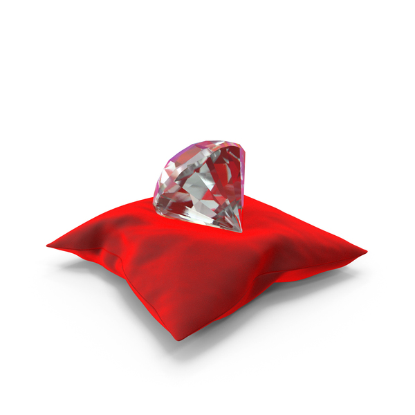 Bed: Diamond on a Pillow PNG & PSD Images