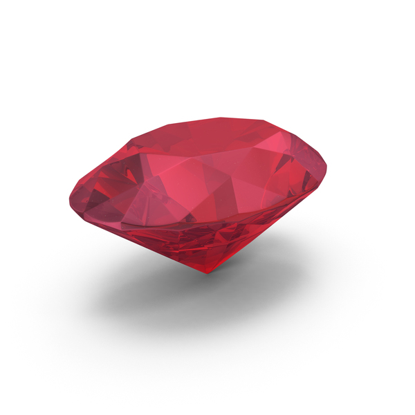 Diamond Oval Cut Ruby PNG & PSD Images