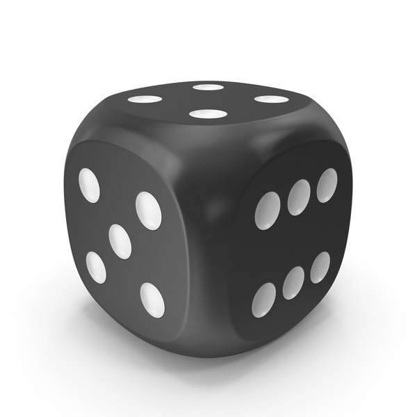 Dice Black White Up 4 PNG & PSD Images