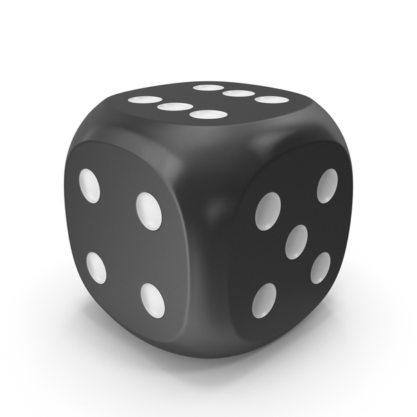 Dice Black White Up PNG & PSD Images