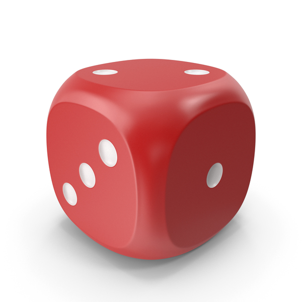 Dice Red White Up 2 PNG & PSD Images