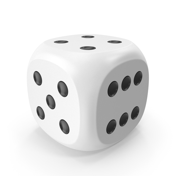 Dice White Black Up 4 PNG & PSD Images