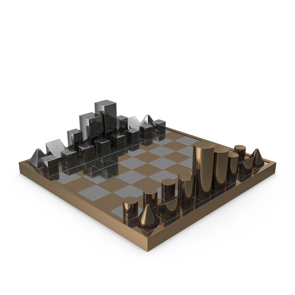 Diego Matthai Chrome Chessboard PNG & PSD Images