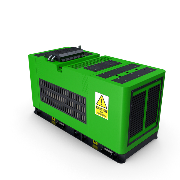 Diesel Generator Green PNG & PSD Images