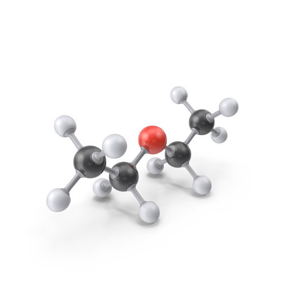 Diethyl Ether Molecule PNG & PSD Images