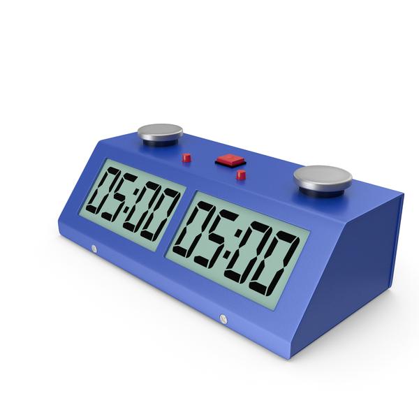 Digital Chess Clock Generic PNG & PSD Images