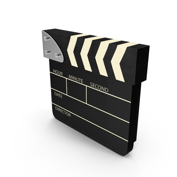 Clapperboard: Digital Clapboard PNG & PSD Images