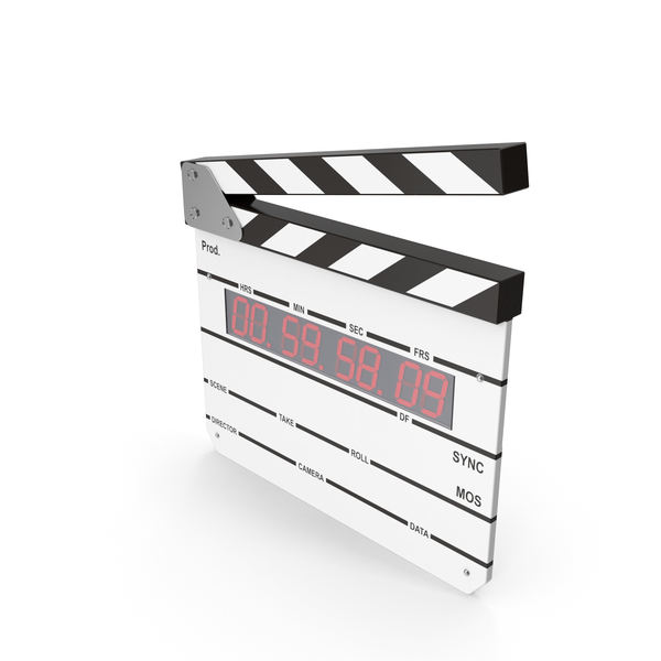 Clapperboard: Digital Clapboard PNG & PSD Images