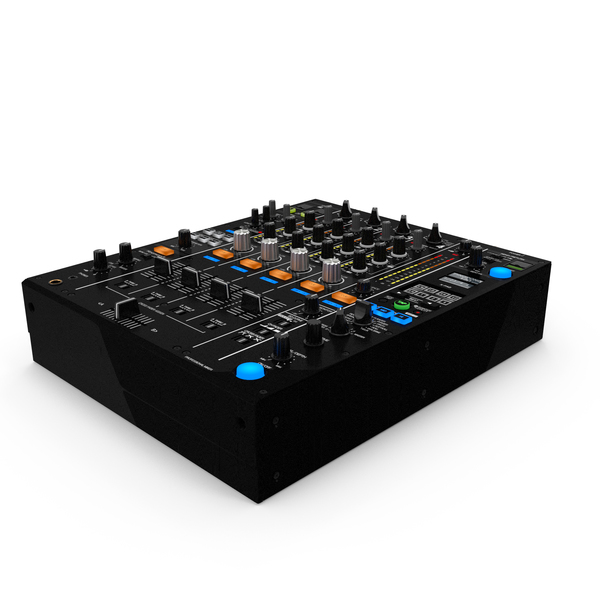 Digital DJ Mixer PNG & PSD Images