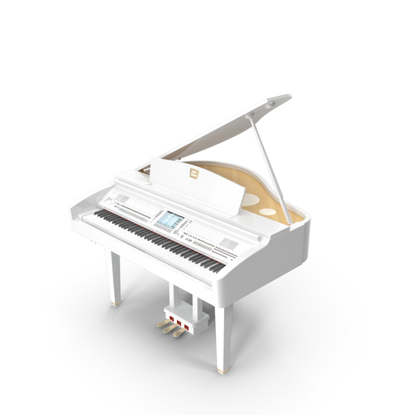 Digital Grand Piano from Yamaha PNG & PSD Images