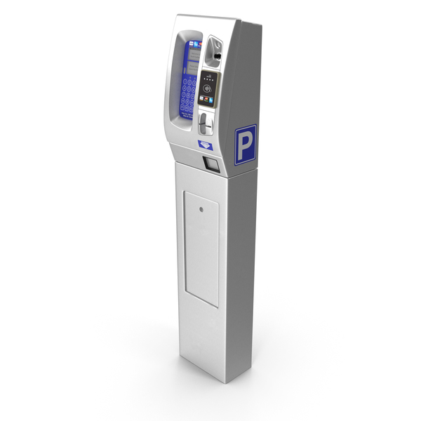 Digital Parking Meter PNG & PSD Images