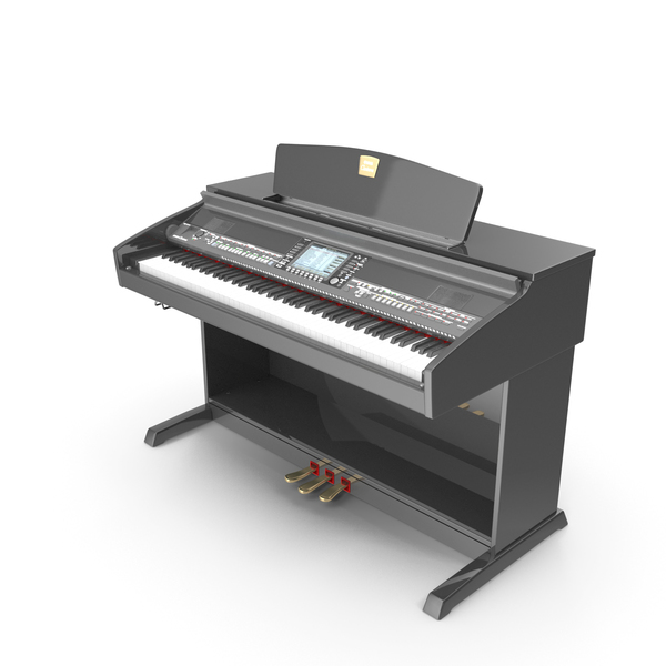 Digital Piano Clavinova YAMAHA CVP-501 PNG & PSD Images